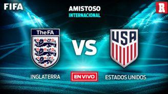 EN VIVO y EN DIRECTO: Inglaterra vs Estados Unidos