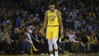 Curry sale de la duela tras lesión