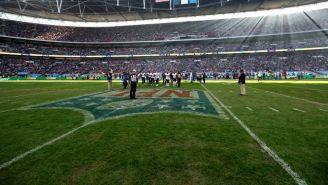 Wembley Stadium, durante un duelo de NFL