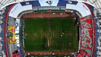 Vista desde las alturas del Estadio Azteca tras cancelación de NFL