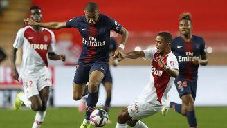Kylian Mbappé elude la marca del Mónaco