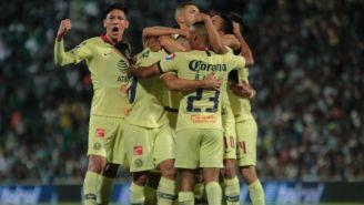 América, celebra anotación contra Santos en el TSM Corona