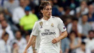 Luka Modric, en un juego con el Real Madrid