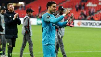 Ochoa, agradece el apoyo de la afición del Standard de Lieja