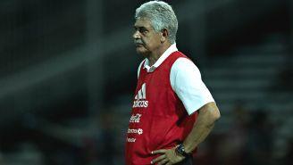 Tuca Ferretti, previo al duelo contra Argentina en Córdoba