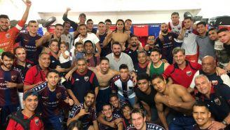 Atlante celebra su pase a las Semifinales de la Liga de Ascenso