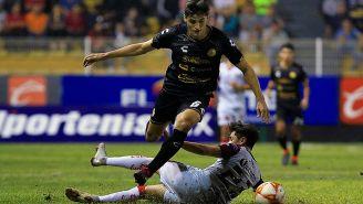 Fernando Arce en partido de Cuarto de Final
