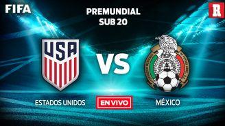 EN VIVO y EN DIRECTO: Estados Unidos vs México