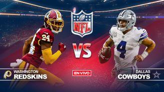 EN VIVO Y EN DIRECTO: Washington Redskins vs Dallas Cowboys