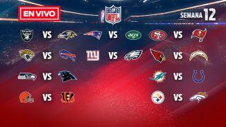 EN VIVO Y EN DIRECTO: NFL Semana 12 domingo
