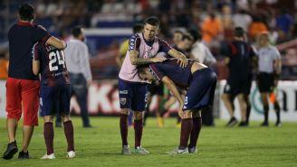 Atlante se lamenta tras caer ante el Atlético de San Luis
