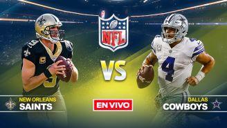 EN VIVO y EN DIRECTO: Saints vs Cowboys
