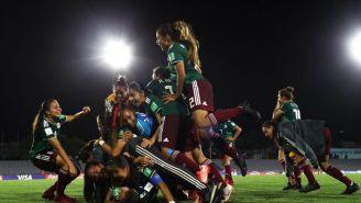 Tri Femenil celebra pase a la Final del Mundial