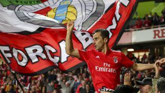 Jonas celebra anotación de Benfica con su anotación
