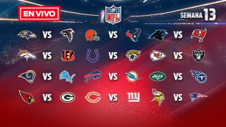 EN VIVO Y EN DIRECTO: NFL Semana 13 domingo