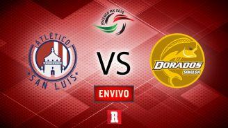 EN VIVO Y EN DIRECTO: San Luis vs Dorados