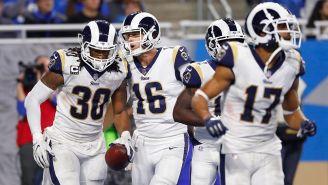Rams festeja touchdown de Todd Gurley