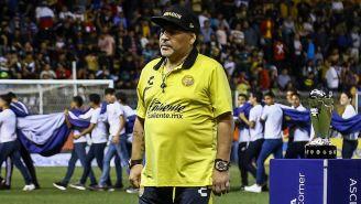 Maradona, previo a un juego con Dorados