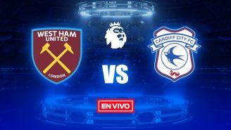 EN VIVO Y EN DIRECTO: West Ham vs Cardiff City