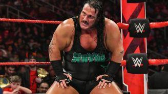 Rhyno después de ser derrotado en RAW
