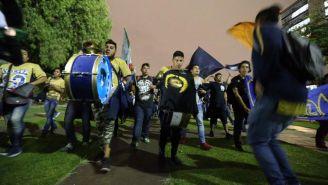La llegada de La Rebel al Olímpico Universitario, fue sin contratiempos