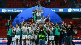 Santos festeja el título del Clausura 2018