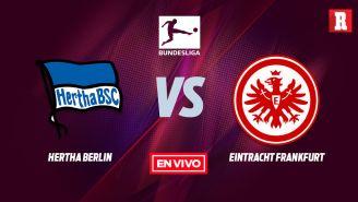 EN VIVO Y EN DIRECTO: Hertha Berlin vs Eintracht Frankfurt