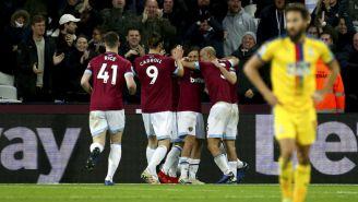 West Ham United festeja victoria frente al Ceystal Palace