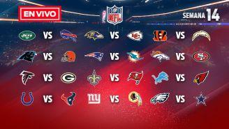 EN VIVO Y EN DIRECTO: NFL Semana 14 domingo