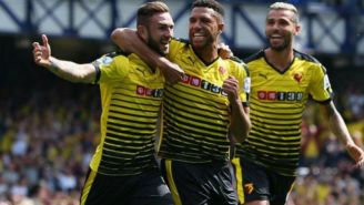 Layún, festeja anotación con Watford en Premier League