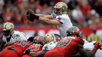 Brees consigue un touchdown frente a Buccaneers