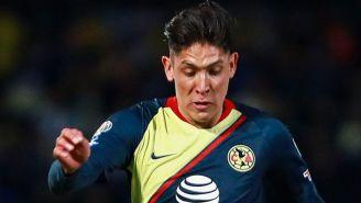 Edson Álvarez, durante el partido contra Pumas