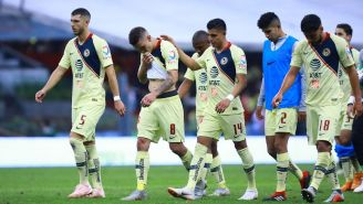 Jugadores de América se lamentan en el Apertura 2018