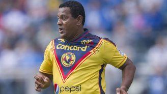 Antonio Carlos Santos, en un juego de Leyendas