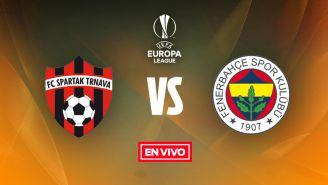 EN VIVO y EN DIRECTO: Spartak Trnava vs Fenerbahçe