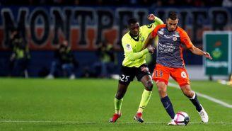Juego entre Montpellier y Lille en Francia