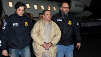 Chapo Guzmán es escoltado a Nueva York para juicio