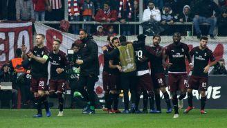 Milan es eliminado de la Fase de Grupos de Europa League