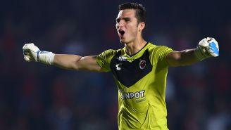 Jurado celebra gol de Veracruz contra Gallos Blancos