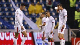 Chivas se lamenta después de un partido