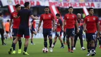 Chivas previo a su debut en el Mundial de Clubes