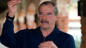 Vicente Fox durante una entrevsta