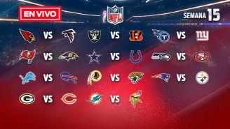 EN VIVO Y EN DIRECTO: NFL Semana 15 domingo