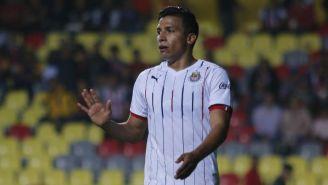 Ángel Sepúlveda, en el juego entre Chivas y Morelia del A2018