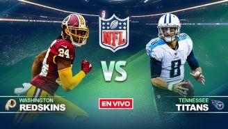 EN VIVO y EN DIRECTO: Redskins vs Titans