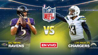 EN VIVO y EN DIRECTO: Ravens vs Chargers