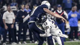 Defensiva de los Ravens detiene el ataque de los Chargers