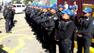 Elementos de seguridad se alistan para realizar operativo