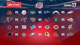 EN VIVO Y EN DIRECTO: NFL Semana 17 domingo