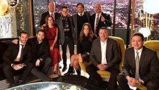 Equipo de Televisa Deportes desean felices fiestas